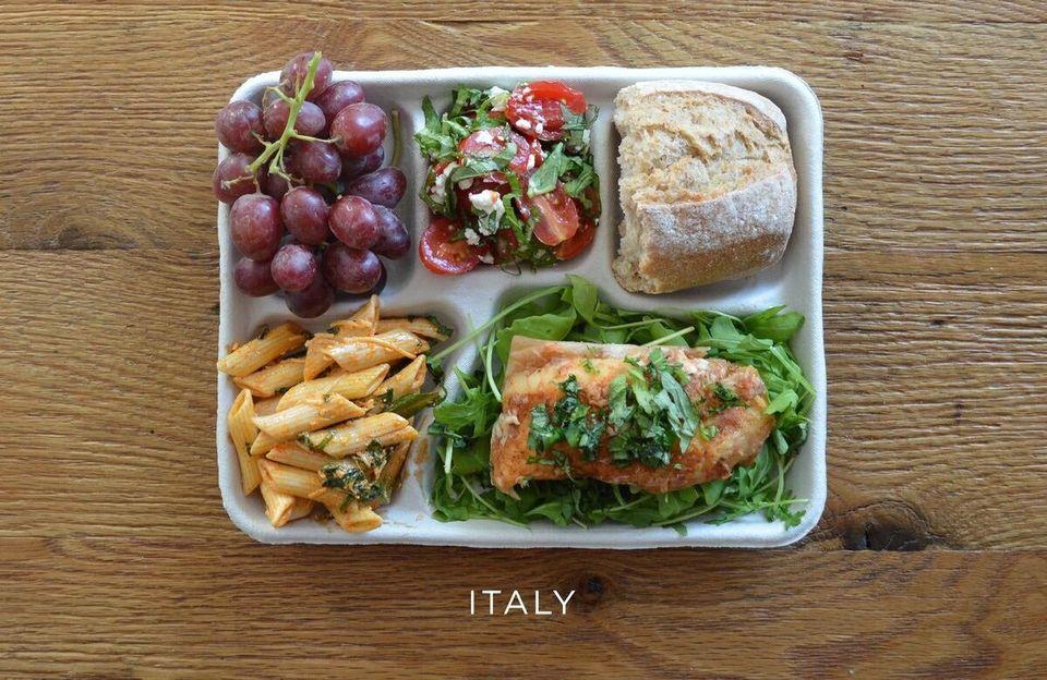세계 여러 나라의 아이들이 먹고 있는 학교 급식.. 한국 급식은