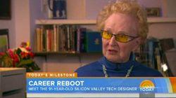 실리콘 밸리의 디자이너가 된 91세