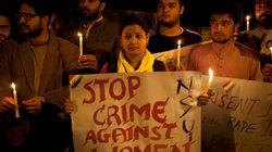 인도 성범죄자 분노한 군중에 구타