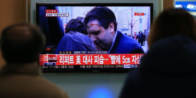 북한, 리퍼트 피습