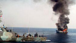 인도네시아, 불법조업 필리핀 선박