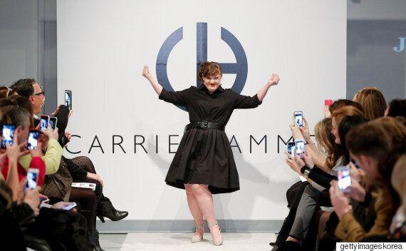 다운증후군 모델, 뉴욕패션위크 무대에