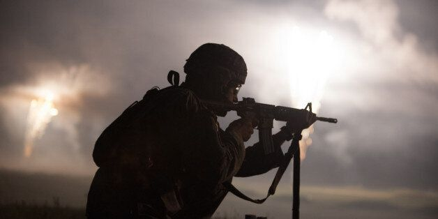 Army Reserve Sgt. Jeremiah Bruce, an infantryman representing the 9th Mission Support Command and a native...