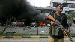 파키스탄 폭탄 테러 8명