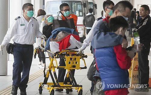 홍콩 독감 사망자 304명...2003년 사스 사망자수