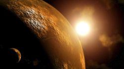 화성 상공 거대 연무