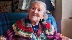 115세 할머니: 장수 비결은 '날달걀·독신생활'(사진,