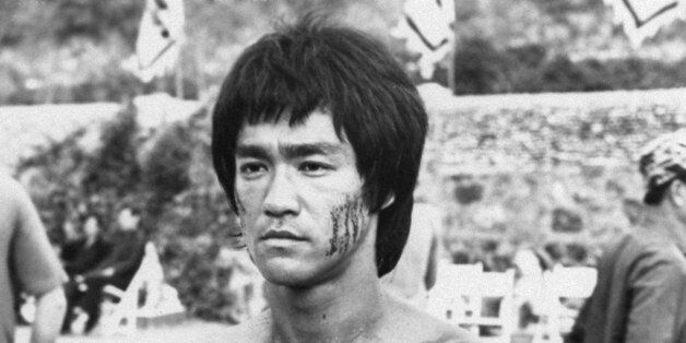 Bruce Lee is shown in a scene from the 1973
