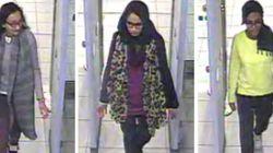 IS 가담 영국 소녀들, SNS로