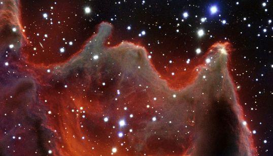 우주에는 거대한 '신의 손'이