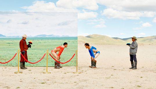 한국 사진가, 몽골의 사막화를