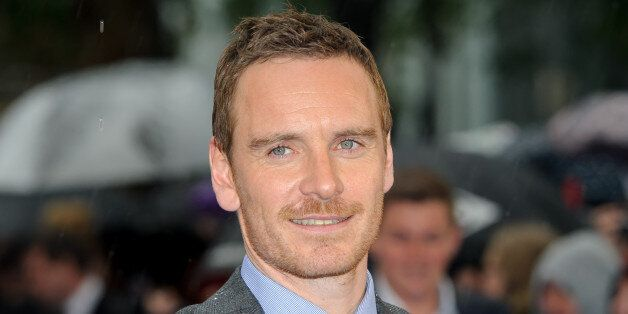 Michael Fassbender arrives for the UK Premiere of X-Men Days Of Future Past at a central London cinema,...
