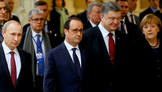 러시아·우크라이나·프랑스·독일 '끝장 협상'