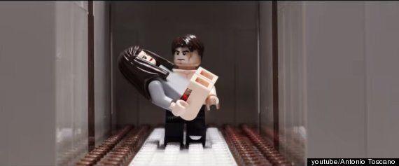 레고로 만든 '그레이의 50가지 그림자'