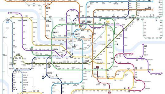 네이버 지하철 노선도가 달라졌다!