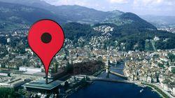 구글 맵 10년, 편리함의 대가로 이동표적이