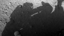 화성 탐사선이 찍은 사진에 '인간의 그림자'가