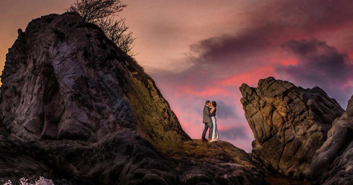 전 세계에서 모은 '엄청난' 웨딩사진 12