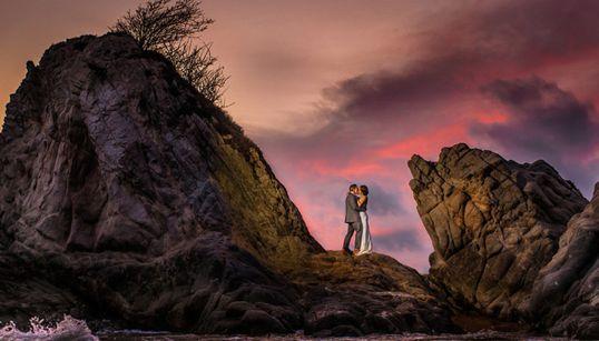 전 세계에서 모은 '엄청난' 웨딩사진