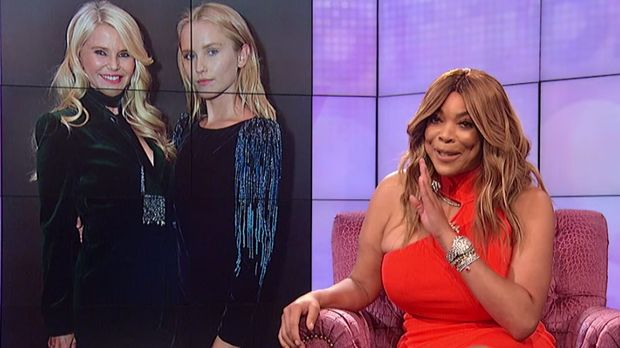 Screenshot of Wendy Williams show with Christie Brinkley
