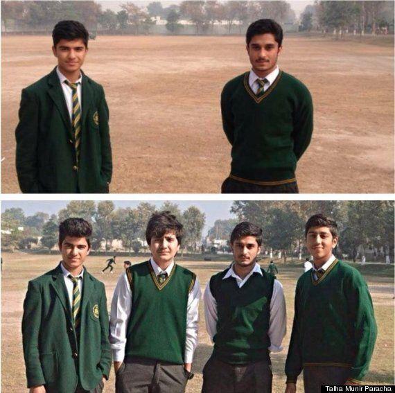 탈레반의 테러 전과 테러 후를 보여주는 두 장의 사진 : 모든 건 그대로인데, 내 친구는