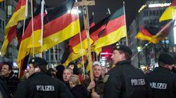 독일 반이슬람 집회 'IS 살해위협'에