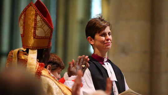 [화보] 잉글랜드 성공회 첫 여성 주교