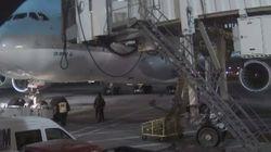 대한항공이 공개한 '땅콩 회항' CCTV