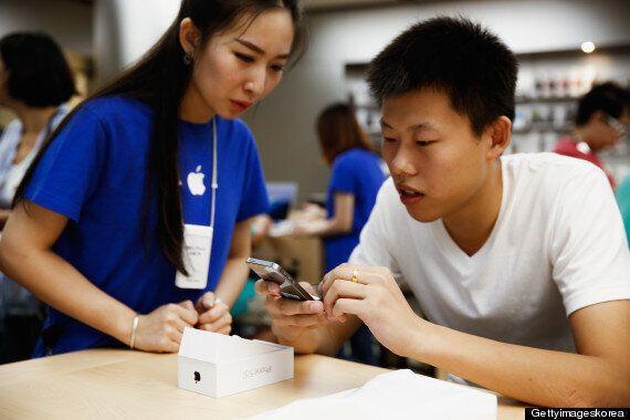 애플, 중국 스마트폰 시장 1위