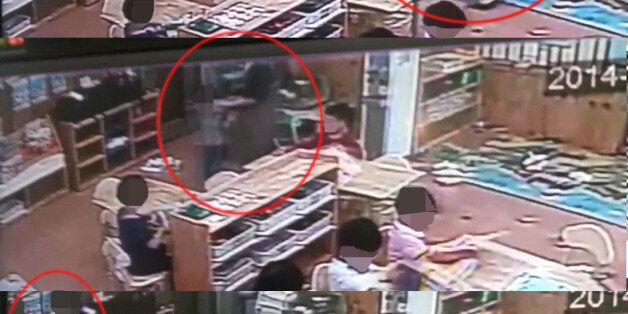 '어린이집 교사, CCTV 사각지대서 아동학대'