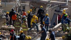 멕시코 병원 폭발사고로 붕괴 : 60여명