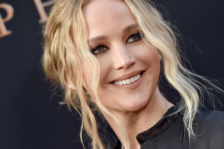 """Jennifer Lawrence at the premiere of 20th Century Fox's """"Dark Phoenix on June 4, 2019 in Hollywood, California."""