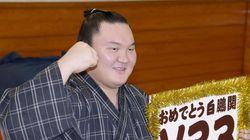 몽골출신 스모선수, 일본 역대 최다우승