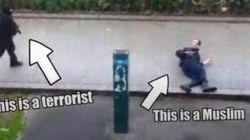 무슬림 테러범이 살해한 경찰은