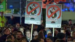 거리에 나선 독일 시민들, 반(反)이슬람 집회