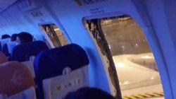 중국서 여객기 지연 불만 승객이 비상구 열어