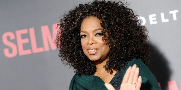 Producer Oprah Winfrey attends the premiere of