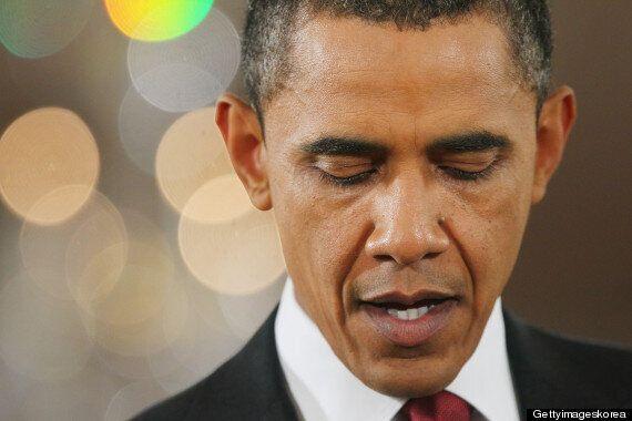 오바마는 어디에? 파리 행진 불참