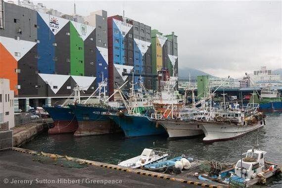 개정된 원양산업발전법은 먼 바다에서 힘을