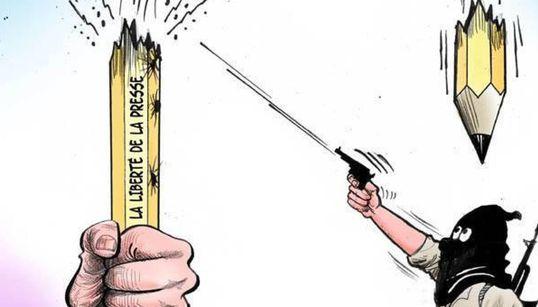 표현의 자유를 위해 투쟁하는 아랍 만화가