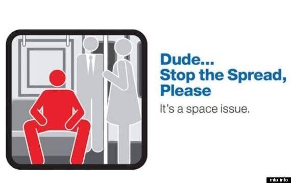 지하철 '쩍벌녀'를 본 사람들의 반응