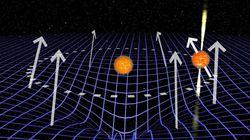 시공간의 왜곡을 측정하는데