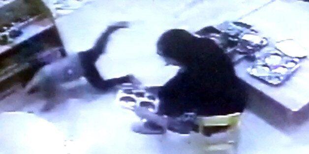 CCTV 영상 모습. 연합뉴스/독자