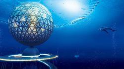 일본 건축회사가 설계한 수중도시