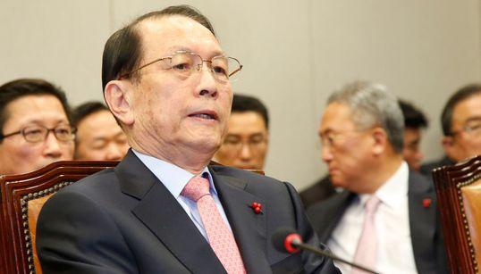 [화보] 김기춘 '왕실장'의 국회