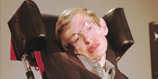 **FILE** Stephen Hawking, the thinker, physicist, mathmatician and author of the