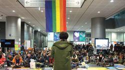성소수자 서울시청 점거, 6일간의