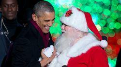 산타에게 편지 쓴 미국 소년, 오바마에게 답장