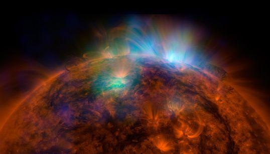 나사의 새 우주망원경 뉴스타로 찍은 태양의