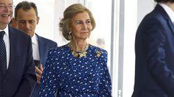 La reina Sofía sorprende con un inusual cambio de